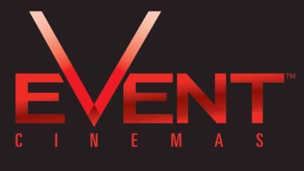 Event Cinemas Movie Vouchers (3 x ADULT, 1 x CHILD)