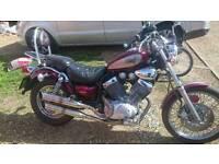 Motorcycle Yamaha Virago 535