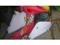 Motocross plastics