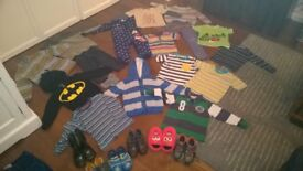 Boys clothes & Shoes Bundle - aged 3-4