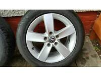15 inch VW wheels