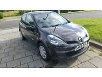 2008 RENAULT CLIO 1.2 PETROL LOW MILEAGE 82000 CHEAP INSURANCE GOOD RUNNER