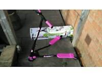 Pink Fliker Scooter