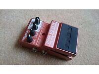 DigiTech XBS Bass Squeeze, dual band bass compressor pedal