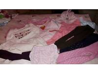 Bundle 0-3 months Baby girl clothes including new coat with tags
