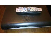 sky hd box plus remote