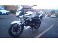 HONDA CBF 125CC 2013 White - 9 Months MOT - Very Reliable Low Mileage