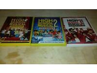 Walt Disney high school musical DVD collection