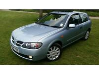 Nissan Almera 1.5 sve, low mileage,new M.O.T.