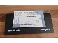 Future island ticket for Brighton dome