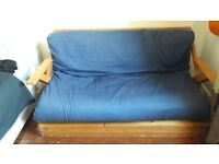 Futon double size with thick cushion