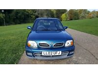 NISSAN MICRA 1.0 16V 3dr AUTOMATIC,LONG MOT,VERY LOW MILEAGE , VERY GOOD DRIVE, FULL VOSA MOT HISTO