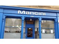 SELF EMPLOYED HAIRDRESSER REQUIRED @ MANCINI HAIRDRESSERS PORTOBELLO