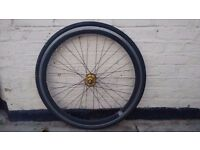 700c Front wheel for sale with tyre