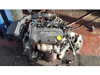 Vauxhall Corsa D Engine, low miles, runs superb, new type.