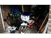Yamaha fzr genesis 1000cc 1987 project bike
