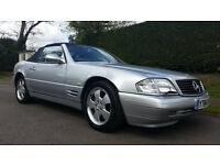 MERCEDES-BENZ SL CLASS 3.2 SL320 2dr Auto (silver) 2001