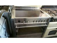 Smeg 90cm induction range cooker used once as new !!