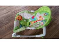 Fisher price Rainforest Rocker / Seat for new born baby to toddler - Great condition