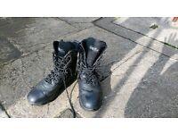 Black Kombat boots size 5 (38)