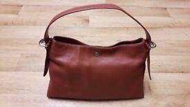 Womens Ladies Leather Style Tote Shoulder Bag /Handbag