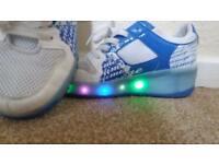 Heelys Light-up girls UK size 6 great condition