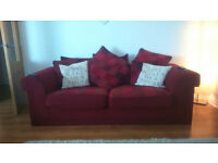 2 Large and very comfy Sofas for Sale - £90 only for both !