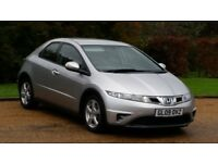 HONDA CIVIC 1.8 SE 09PLATE 2009 FACELIFT 1 LADY OWNER FROM NEW 100649 MILES FULL SERVICE HISTORY AC