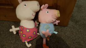 peppa pig and puzzels