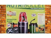 Magic Bullet NutriBullet 600 Series Deluxe 14 Piece Set - NEW