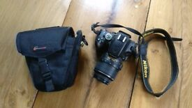 Nikon D5100 18-55mm with accessories