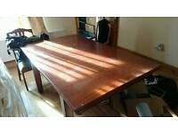 Riley pool/dining table