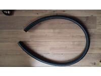 "40mm - 1.5"" BLACK CORRUGATED KOI FLEXIBLE HOSE FISH POND FILTER MARINE PIPE"