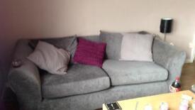 Grey sofa Needs gone ASAP