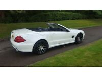 MERCEDES SL350 WHITE