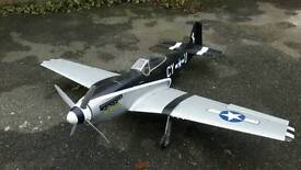 Radio Control P-51 Mustang Electric Plane