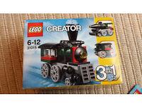 Lego 31015 Creator 3 in 1 steam train
