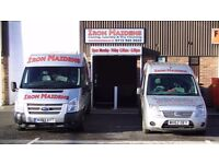 IRON MAIDENS IRONING AND LAUNDRY SERVICE AT GILTBROOK REQUIRES A PART-TIME VAN DRIVER