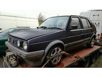 Volkswagon Golf gti mk2 SPARES PROJECT DONOR