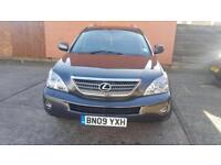 LEXUS RX400 LIMITED EDITION 2009, FULL SERVICE HISTORY