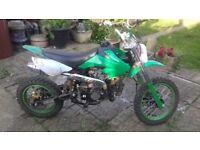 Dirt bike Thumptser 125cc