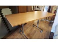 Folding Table On Castors ideal For Christmas 3 Available