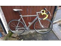 Light weight fast commute cycle VGC