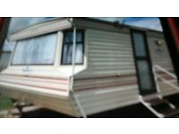 2 bed 6 berth caravan golden palm chaple st leonards skegness