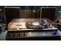 Vintage Philips Music Centre. Turntable Tuner and Tape