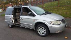 Chrysler grand voyager 2002 auto 3.3 petrol/LPG 7 seater