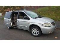 Chrysler grand voyager 2002 auto 3.3 petrol/LPG 7 seater