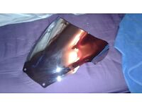 double bubble smoked screen for GSXR 600 / 750 K1-K3 looks awesome!