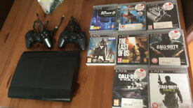 Playstation3 with 8 Games, 2 control £90.