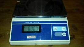 Weigh station scales